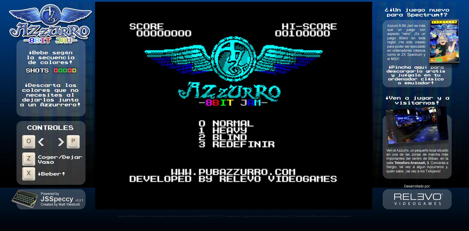 Retrogaming news! Ninja Savior and Azzurro 8-Bit Jam   Relevo